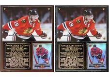 Jonathan Toews #19 Chicago Blackhawks Photo Plaque 3-Time Stanley Cup Champ