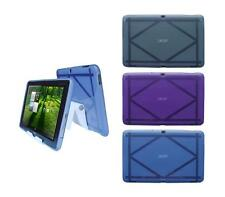 View Stand Holder + TPU Gel Skin Case Cover for Acer Iconia A700 Tablet