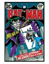 DC Comics Batman Gloss Black Framed The Joker's Back In Town Poster 61x91.5cm