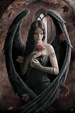 New Angel Rose Anne Stokes Poster