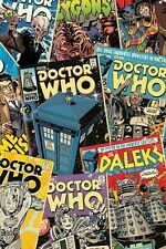 New Doctor Who Comic Montage Dr Who Poster