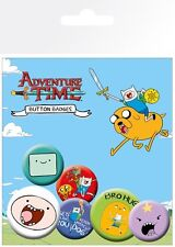 New Adventure Time Fun With Finn Badge Pack