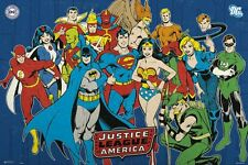 DC Comics Justice League of America JLA Poster 91.5x61cm