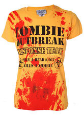 Zombie Outbreak Response Team Darkside Clothing Halloween Gift Girls T-Shirt 4C