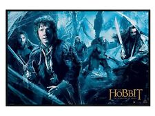 New Gloss Black Framed The Hobbit Desolation Of Smaug Mirkwood Poster