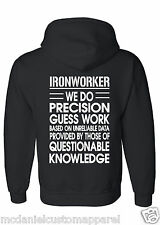 Ironworker hoodie Customized with your Local #.  Precision Ironworker
