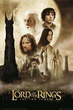 New The Lord of the Rings The Two Towers LOTR Poster