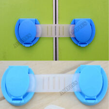 5PCS Drawer Cabinet Wardrobe Door Fridge Safety Lock For Baby Child Kid ACT