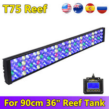 36inch LED Aquarium Light Full Spectrum Dimmable For Marine Fish Reef Coral 3ft