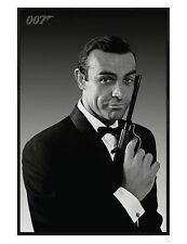 James Bond The Name's Bond Gloss Black Framed Sean Connery Maxi Poster 61x91.5cm