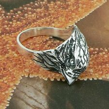 STERLING SILVER BIRD RING SOLID.925 /NEW JEWELLERY SIZE J - U