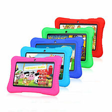 For Kids 7'' Quad Core MID HD Tablet Computer PC Android 4.4 8GB Wifi with Case