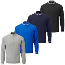 Stuburt 2016 Mens Sport Half Zip Lined Golf Wind Sweater Windshirt Top Pullover