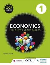 Ocr a Level Economics Book 1 by Peter Smith Paperback Book Free Shipping!