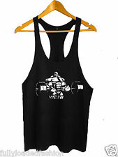 Bodybuilding Stringer Tank Top GYM Y-Back Gym Weight Lifting Fighting Vest