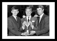 West Ham United 1966 World Cup Heroes - Moore, Hurst & Peters Photo