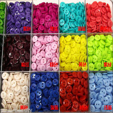 Resin 2 Holes Mixed Colors Sizes  DIY Craft Scrapbook Fit Sewing Buttons Plastic