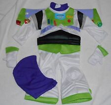 BOYS SIZE 6-12M or 18-24M BUZZ LIGHTYEAR FROM TOY STORY DISNEY STORE COSTUME NWT