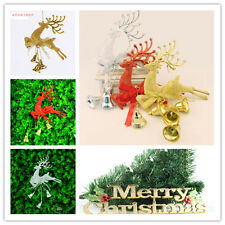 New Popular Christmas Tree ornament deer Chital Hanging Xmas Baubles Party decor