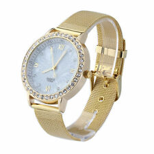 NEW DESIGNER WRIST WATCH FASHION STYLE MEN WOMEN LADIES GIRLS GOLD GIFT BRACELET