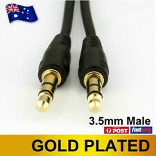 3.5mm AUX Jack Audio Cable Headphone Earphone iPod MP3 Stereo Cord Male To Male