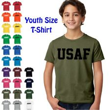 USAF Air Force Physical Training US Military PT Boys Girls YOUTH FIT T Shirt