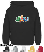 Mens Womens Pokemon Charmander Bulbasaur Squirtle Pokeball Sweatshirt Hoodie