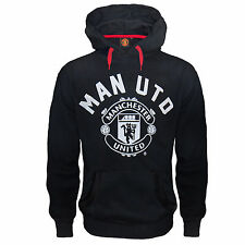 Manchester United Football Club Official Soccer Gift Mens Fleece Hoody