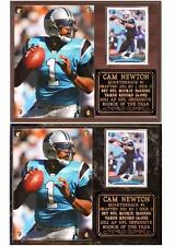 Cam Newton #1 Carolina Panthers NFL Great Photo Card Plaque ROY