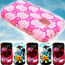 Cute Design Hard Phone Case -Flower, Heart, Bow- for Samsung Exhilarate i577