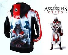 Special Assassins Creed 3 Conner Kenway Cosplay  Hoodie/jacket/coat Costume