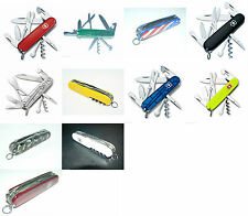 New Victorinox Swiss Army 91mm Knife  CLIMBER  11 Colors...You Choose