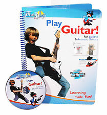 MUSIC ALLEY LEARN TO PLAY GUITAR TUTORIAL BOOK CD ELECTRIC ACOUSTIC BEGINNERS