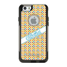 Monogram OtterBox Commuter for iPhone 5S 6 6S Plus Purple Blue Green Yellow
