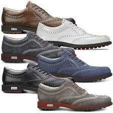 Ecco 2015 Mens Tour Hybrid Spikeless Golf Shoes - Classic Look Hydromax Comfort