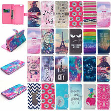Luxury Painted Wallet Leather Case Cover For Apple iPhone 6S/6 6S Plus 5/5S/5C 4
