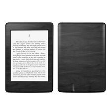 Black Woodgrain Skin Kit For Kindle Paperwhite, Touch Vinyl Sticker Decal Cover