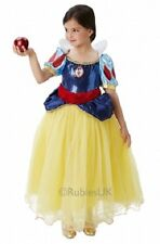 Girls Deluxe Disney Princess Snow White Book Day Week Fancy Dress Costume Outfit