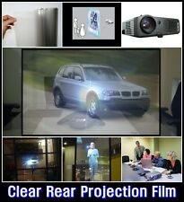 W:60/Rear Projection Film/CLEAR/Projector/Screen/Material/Window/Glass/ARCHISTAR