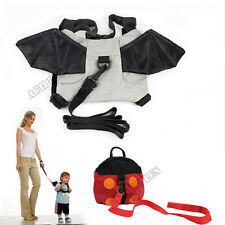 Baby Anti-lost Backpack Harness Kid Keeper Bag Strap  Bat Ladybug Rein Bag act