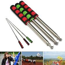 Portable Extendable 2M Flagpole Guide Flagpole Windsock Pointer Red Green New
