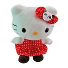 """6"""" Hello Kitty by Sanrio Plush Doll Dress w/Bow Licensed Toy Gift Stuffed Animal"""