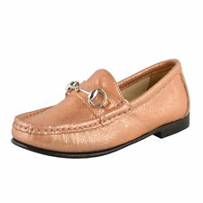 Gucci Girl's Sparkle Leather Horsebit Loafer Shoes Gucci Sz 27 28 29 31 32 33