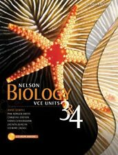 Nelson Biology VCE Units 3 and 4 2e Student Book Plus Access Card for 4 Years by