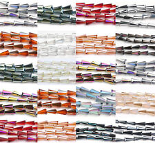 Lots 10Pcs Glass Cone Shape Crystal Faceted Pointed Loose Spacer Beads 16x8x4mm