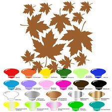 Maple Leaf Fall Plant Decal Vinyl Sticker for Wall Car Window Macbook Laptop