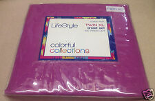 TWIN EXTRA LONG SHEET SETS, BACK TO SCHOOL COLLEGE DORM SHEETS