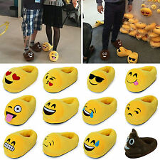 Emoji Expression Unisex Slippers Winter Home Indoor Slippers Plush Slipper Shoes