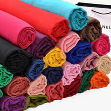 2016 New Womens Long Big Crinkle Voile Soft Scarf Wrap Shawl Stole 180cm*100cm