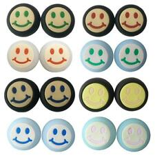 2Pcs Smile Face Joystick Thumbstick Cap for PS2 PS4 PS3 Xbox One/ 360 Controller